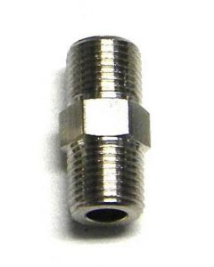 """1/8"""" TO 1/8"""" MALE CONNECTOR"""