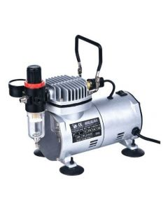 SINGLE PISTON OIL-LESS QUIET COMPRESSOR AS182
