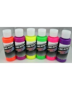 2OZ CREATEX FLUORESCENT SET