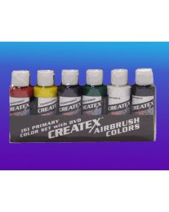 CREATEX PRIMARY AIRBRUSH SET