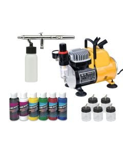 Iwata Eclipse HP-BCS Siphon feed  Airbrush starter kit