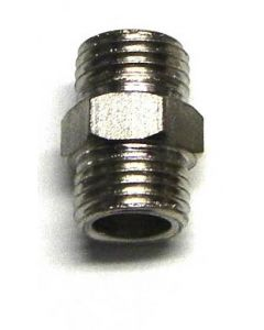 "1/4"" TO 1/4"" MALE ADAPTER"