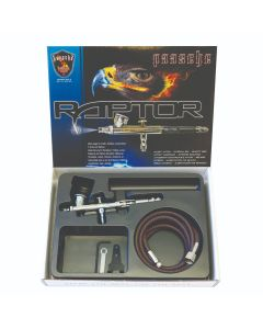 Paasche Raptor Double Action Top Feed Airbrush set