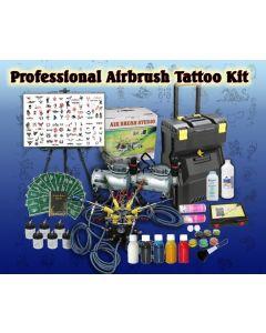 Professional Airbrush Tattoo Set