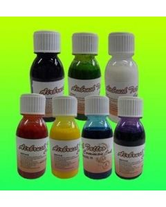 AIRBRUSH TATTOO INK SET 7 COLORS 4 OZ EACH
